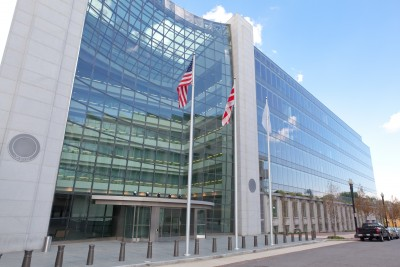 Securities and Exchange Commission, SEC, Building in Washington DC